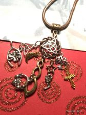 Buy CelticTriquetra Claddagh Infinity Angel Tree Cross European Cluster Charm