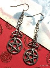 Buy Pentacle CelticTriquetra Trinity Earrings