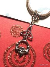 Buy Celtic Trinity Claddagh Pentacle European Charm