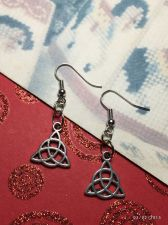 Buy Celtic Triquetra Earrings
