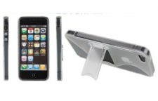 Buy 1 Transparent TPU Rubber S Shape Hard Soft Stand Case Cover For iPhone 5 5G 5th