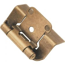 Buy 2 pc Belwith P5710F-AB Antique Brass Semi-Concealed Cabinet Hinge (2-Pack)