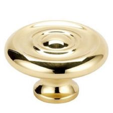 "Buy 1 NEW Liberty 1 1/4""Classic, Concentric Circle Design Brass Cabinet P30040C-PL-C"