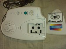 Buy AT&T #1305 Micro-Cassette Answering Machine With Phone Line & AC Power Adapter