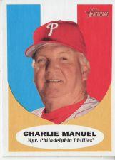 Buy 2010 Topps Heritage #219 Charlie Manuel