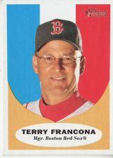 Buy 2010 Topps Heritage #221 Terry Francona