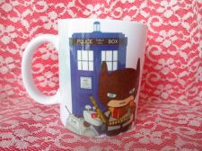 Buy batman Doctor who Fan Art mug