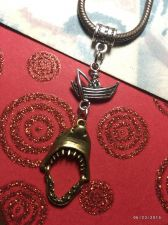 Buy Love SHARKS! Fisherman Under Jaws Attack Inspired European Charm