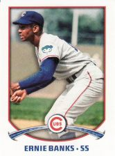 Buy 2015 Topps Stickers #220 - Ernie Banks - Cubs