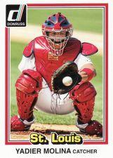 Buy 2015 Donruss #210 - Yadier Molina - Cardinals