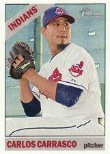 Buy 2015 Topps Heritage #191 - Carlos Carrasco - Indians