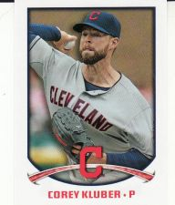 Buy 2015 Topps Stickers #60 - Corey Kluber - Indians