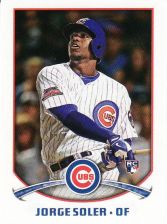 Buy 2015 Topps Stickers #215 - Jorge Soler - Cubs