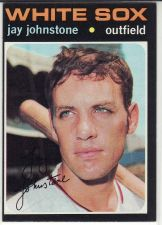 Buy 1971 Topps #292 - Jay Johnstone - White Sox