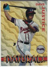 Buy 1994 Pinnacle - The Naturals #5 - Dave Justice - Braves