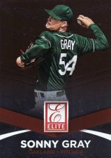 Buy 2015 Donruss Elite Insert #20 - Sonny Gray - Athletics