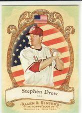 Buy 2009 Allen & Ginter National Pride #NP60 - Stephen Drew - Diamondbacks
