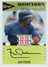 Buy 2013 Hometown Heroes Signatures #HSLD - Leon Durham - Cubs - AUTO