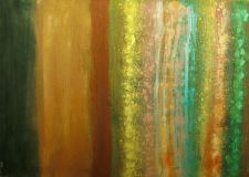 Buy Original abstract hand-made acrylic painting, on stretched, canvas - 24 x 36 in