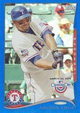 Buy 2014 Topps Opening Day Blue #55 - Nelson Cruz - Rangers