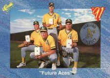 """Buy 1991 Classic #T77 - """"Future Aces"""" - Athletics"""