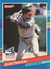 Buy 1991 Donruss #276 - Scott Fletcher - White Sox