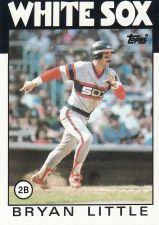 Buy 1986 Topps #346 - Bryan Little - White Sox