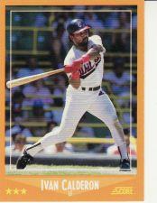 Buy 1988 Score #607 - Ivan Calderon - White Sox