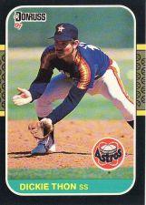 Buy 1987 Donruss #261 - Dickie Thon - Astros