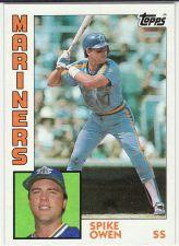 Buy 1984 Topps #413 - Spike Owen - Mariners