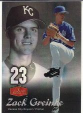 Buy 2006 Flair Showcase #117 - Zack Greinke - Royals