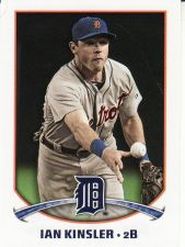 Buy 2015 Topps Stickers #67 - Ian Kinsler - Tigers