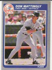 Buy 1985 Fleer #133 - Don Mattingly - Yankees
