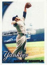 Buy 2010 Topps #7 - Mickey Mantle - Yankees