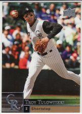 Buy 2009 Upper Deck #114 - Troy Tulowitzki - Rockies