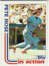 Buy 1982 Topps #781 - Pete Rose In Action - Phillies