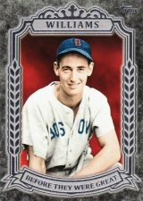 Buy 2014 Topps Before They Were Great #BG-22 - Ted Williams - Red Sox