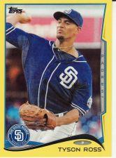 Buy 2014 Topps Yellow #87 - Tyson Ross - Padres