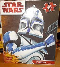 Buy STAR WARS The Clone Wars 48 Piece Jigsaw Puzzle - Clone Trooper