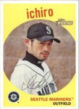 Buy 2008 Topps Heritage Black Back #16 Ichiro - Mariners