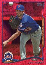 Buy 2014 Topps Red Foil #60 - Jon Niese - Mets