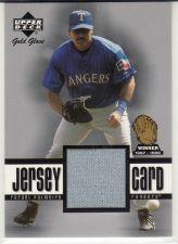 Buy 2001 Upper Deck Gold Glove Game Jersey #GG-RP - Rafael Palmeiro - Rangers