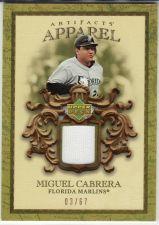Buy 2007 Artifacts MLB Apparel #MLB-MC - Miguel Cabrera - Marlins