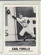 Buy 1977-84 Galasso Glossy Greats #11 - Carl Furillo - Dodgers