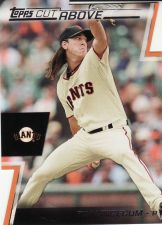 Buy 2012 Topps A Cut Above #ACA-17 - Tim Lincecum - Giants