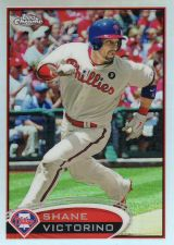Buy 2012 Topps Chrome Refractor #3 - Shane Victorino - Phillies