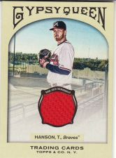 Buy 2011 Gypsy Queen Relics #GQR-TH - Tommy Hanson - Braves
