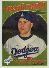 Buy 2008 Topps Heritage Chrome #C64 - Russell Martin - Dodgers