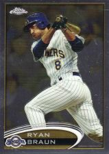 Buy 2012 Topps Chrome #117 - Ryan Braun - Brewers