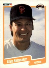 Buy 1990 Fleer #57 - Atlee Hammaker - Giants